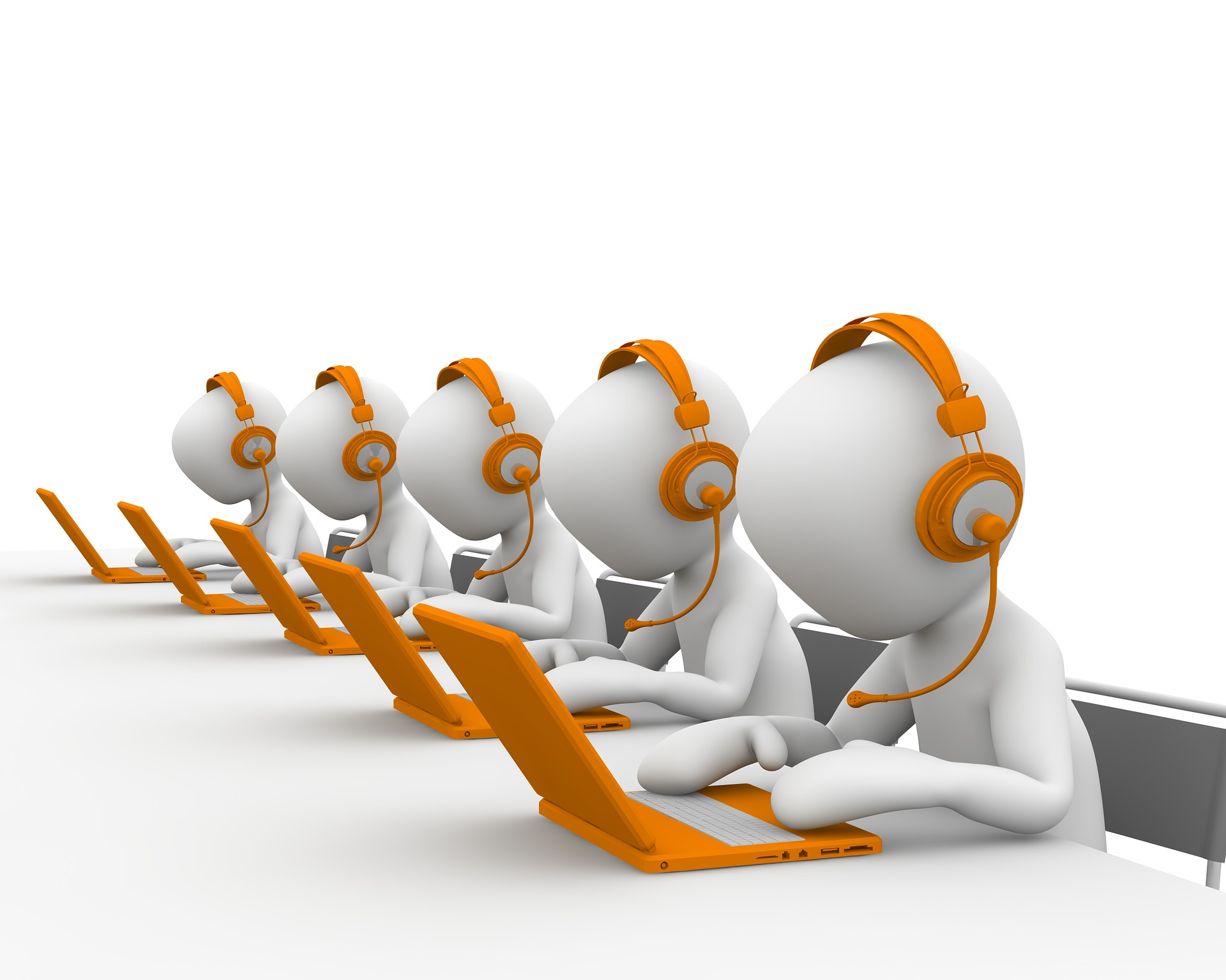 A call center service can help you retain clients.